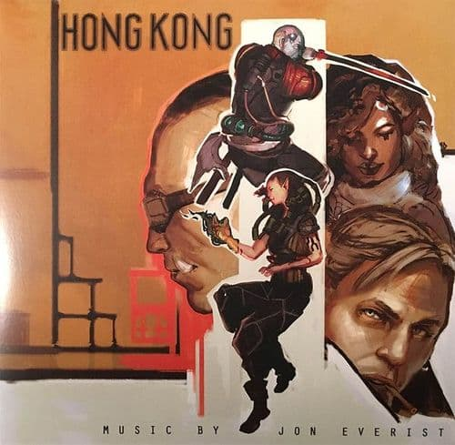 Jon Everist<br>Hong Kong<br>LP, Gold + LP, Silver + um